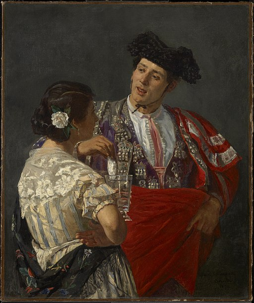 """""""Offering the Panel to the Bullfighter"""" by Mary Cassatt"""