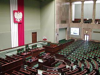 Plenarsaal des Sejm (Bild: Network.nt / Wikipedia)