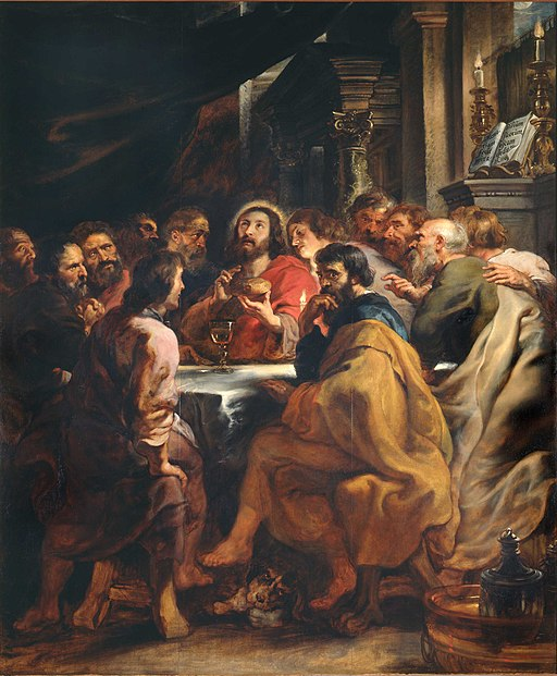 """The Last Supper"" by Peter Paul Rubens"
