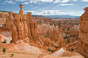 Thor's Hammer formation in Bryce Canyon Nation...