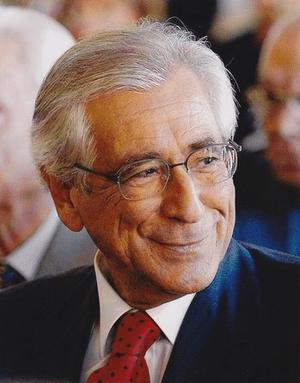 Italiano: Il professor Andrea Manzella, ospite...