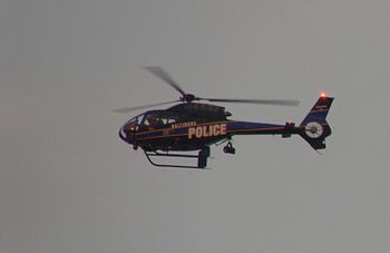 English: Police helicopter, also known as FoxT...