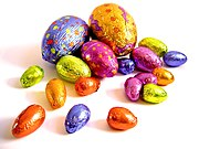 Cokelat telur Paskah