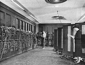 English: ENIAC in Philadelphia, Pennsylvania G...