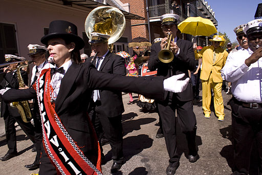 FQF 2010 Opening Second-Line 10