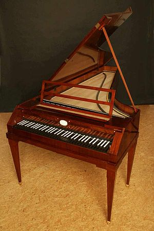 Replica of a Walter & Sohn piano from about 18...