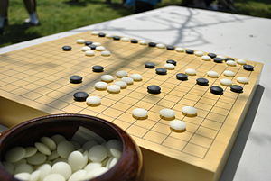 """Go"" a type of Asian chess"