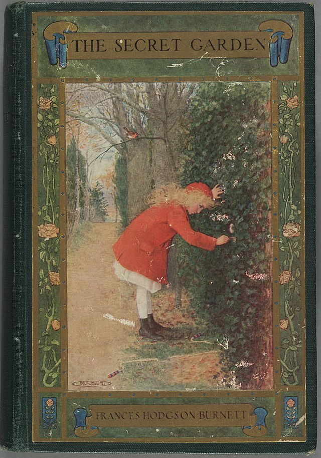 Houghton AC85 B9345 911s - Secret Garden, 1911 - cover.jpg