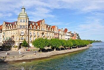 English: City of Constance, Jugendstil buildin...