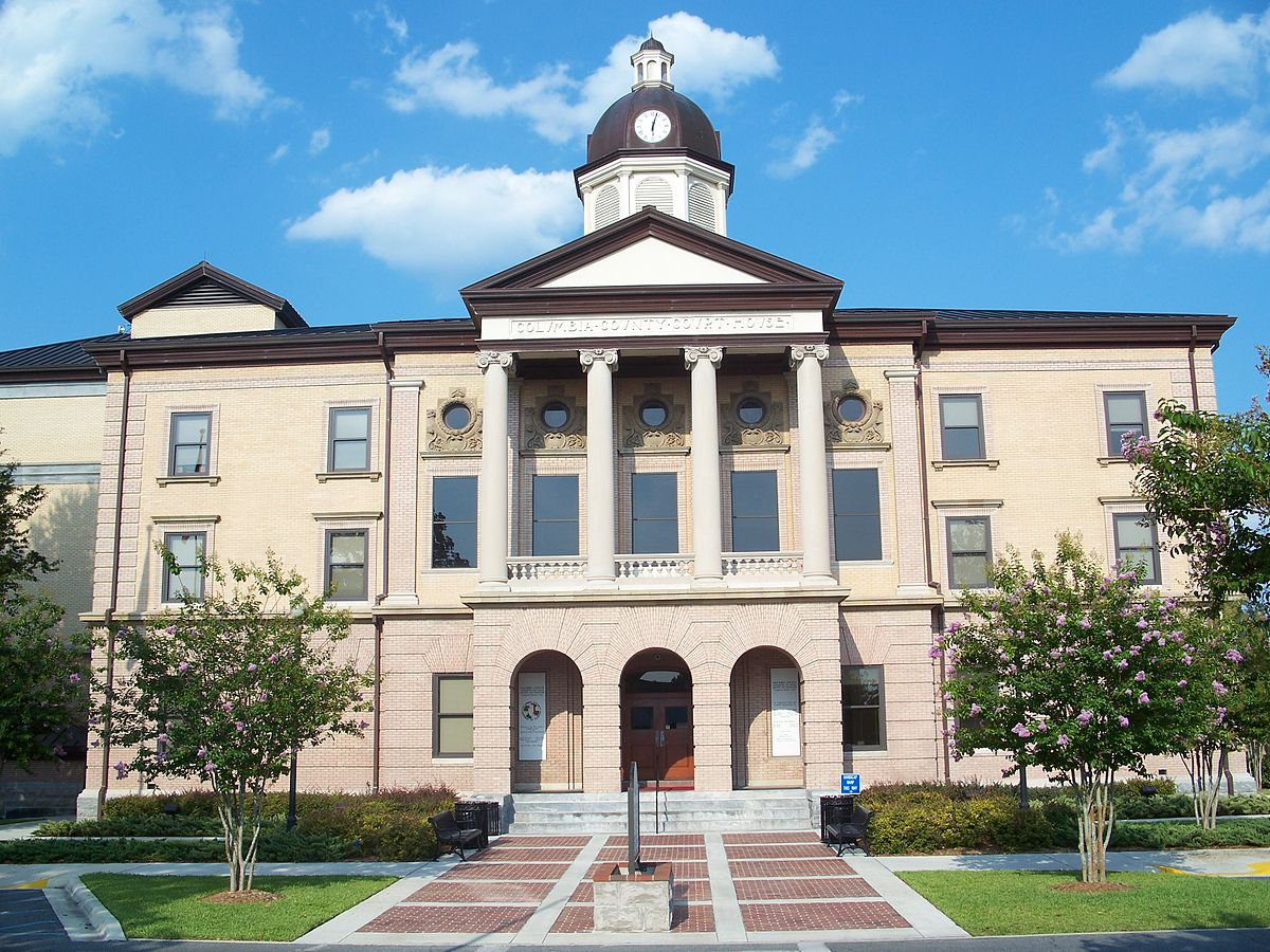 Columbia County Florida Courthouse