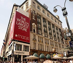 English: Macy's Department Store in New York City.