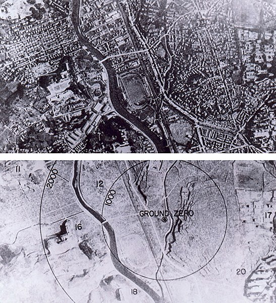 File:Nagasaki 1945 - Before and after (adjusted).jpg