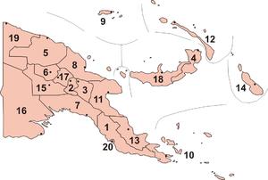 Các tỉnh của Papua New Guinea
