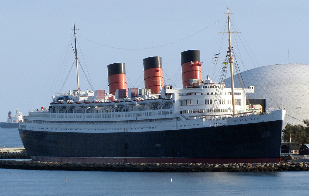 RMS Queen Mary in Long Beach, California