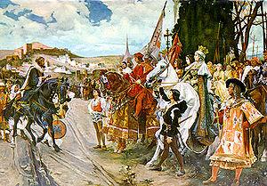 La Capitulación de Granada (F. Padilla)