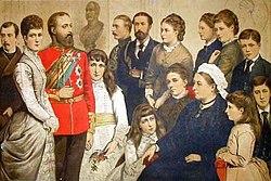 La Famille Royale en 1880