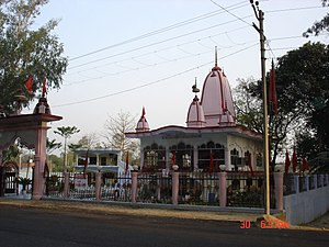 Sankat Mochan Hanuman Temple in Varanasi, India