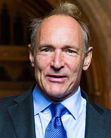 Sir Tim Berners Lee arriving at the Guildhall to receive the Honorary Freedom of the City of London