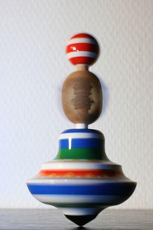 Spinning top, bought in Prague