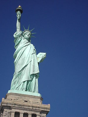 Statue of Liberty from Front