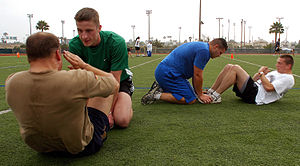 SAN DIEGO (June 15, 2007) - Sailors take turns...
