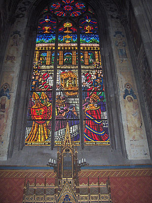 The side chapel of the Holy Sepulchre in the V...