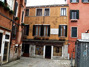 The home of Italian poet Ugo Foscolo, from 179...