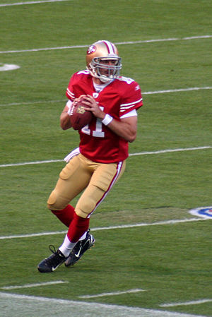 Alex Smith, quarterback of the San Francisco 49ers