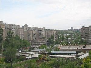 Banlieue de Erevan