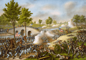 The Battle of Antietam on September 17, 1862 —...