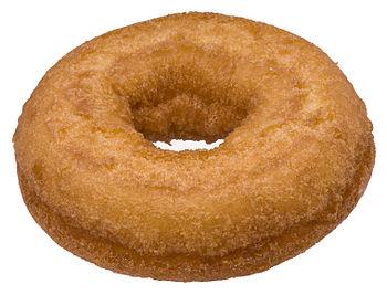 English: An Entennmann's cake donut, bought fr...