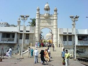 The Haji Ali Dargah (Hindi: हाजी अली दरगाह) is...