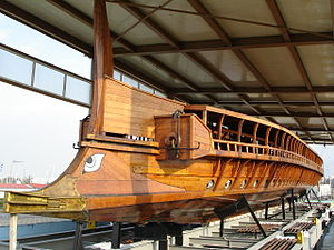 Trireme Olympias of the Hellenic Navy