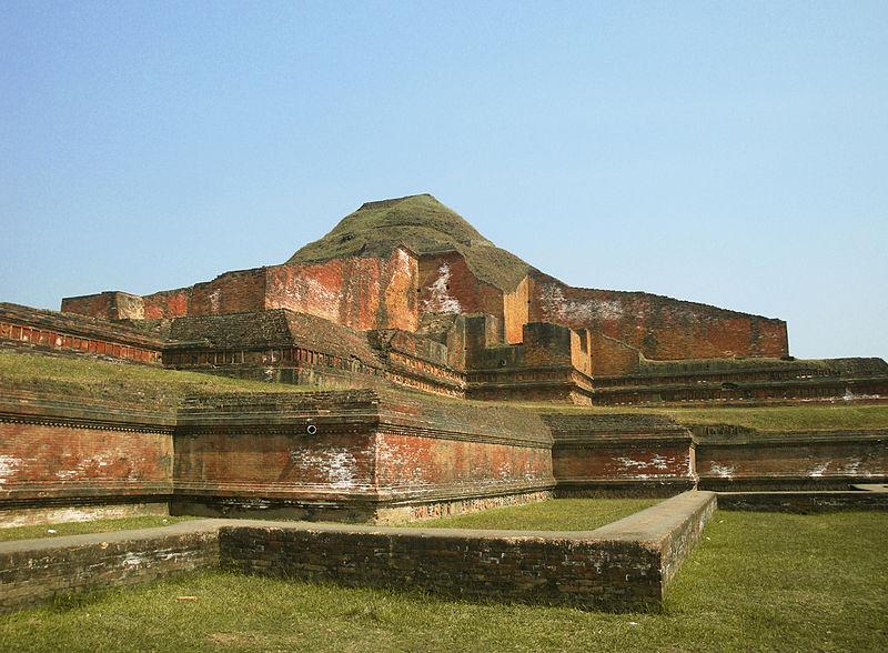 Ruins of Bhuddist Bihara - Somapura Mahavihara.jpg