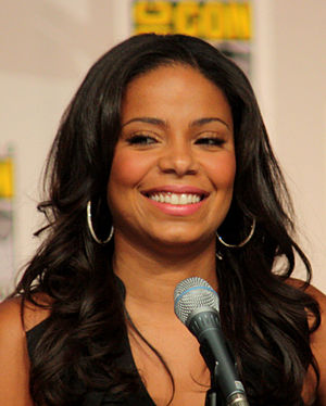 Sanaa Lathan at the 2009 Comic Con in San Diego.