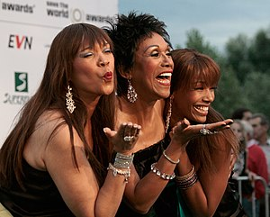 """The Pointer Sisters at the """"green carpet&..."""