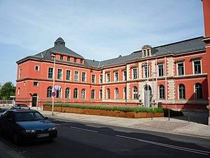 Deutsch: Gebäude der Staatsanwaltschaft Dresde...