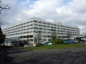 The John Radcliffe Hospital, Oxford, England