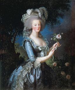 Vigée-Lebrun Marie Antoinette 1783