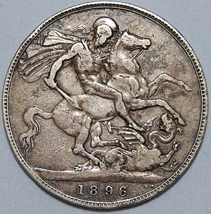 English: 1896 Queen Victoria Crown
