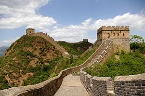 Great Wall of China near Jinshanling Polski: W...