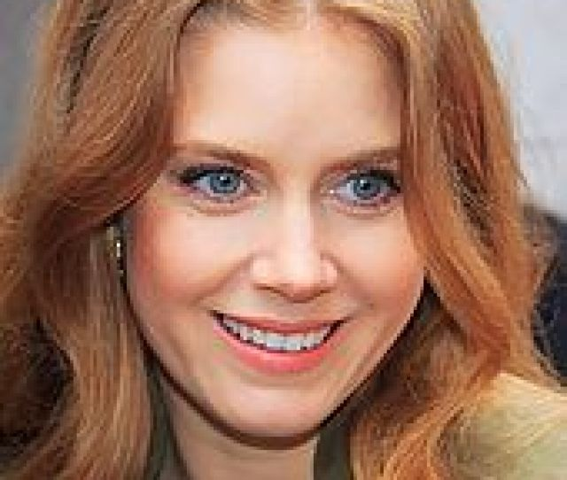 A Close Up Shot Of A Smiling Amy Adams