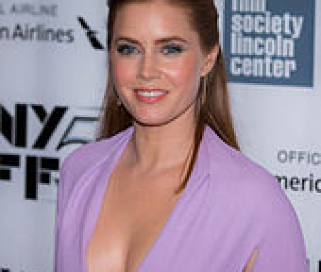 Amy Adams Poses For The Camera