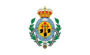 Bandera de Santa Cruz de Tenerife, España