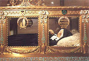 Cuerpo de Santa Bernardette Soubirous.