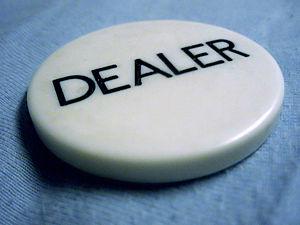 Deutsch: Dealerbutton