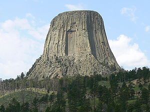 Devil's Tower Wyoming as in close encounters o...