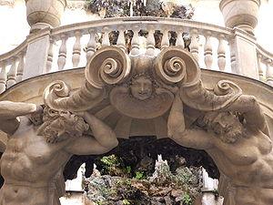 Italiano: Genova, Via Garibaldi; Palazzo Podes...