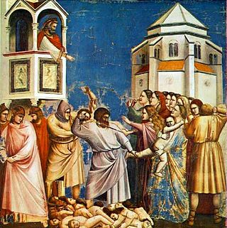 Massacre of the Innocents by Giotto