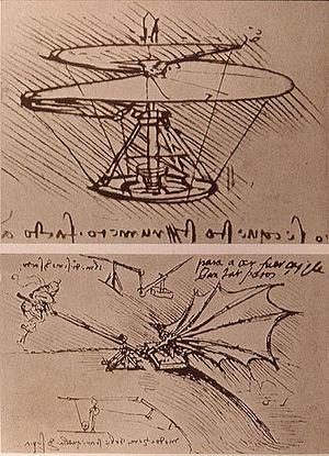 Leonardo da Vinci is well known for his creati...